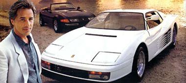 Sonny Crockett e suas Ferraris